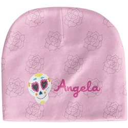 Kids Sugar Skulls Baby Hat (Beanie) (Personalized)