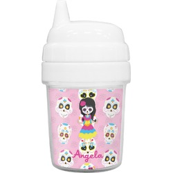 Kids Sugar Skulls Baby Sippy Cup (Personalized)