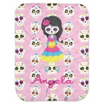 Kids Sugar Skulls Baby Swaddling Blanket (Personalized)