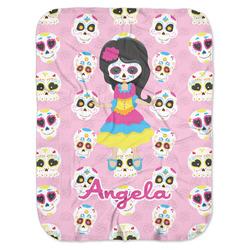 Kids Sugar Skulls Baby Swaddling Blanket (Personalized)