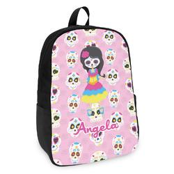 Kids Sugar Skulls Kids Backpack (Personalized)