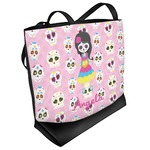 Kids Sugar Skulls Beach Tote Bag (Personalized)