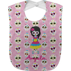 Kids Sugar Skulls Baby Bib (Personalized)