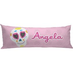 Kids Sugar Skulls Body Pillow Case (Personalized)
