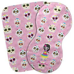 Kids Sugar Skulls Burp Cloth (Personalized)