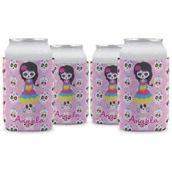 Kids Sugar Skulls Can Sleeve (12 oz) (Personalized)