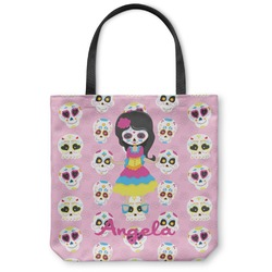 Kids Sugar Skulls Canvas Tote Bag (Personalized)