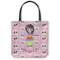 Kids Sugar Skulls Canvas Tote Bag (Personalized)