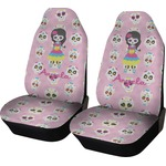 Kids Sugar Skulls Car Seat Covers (Set of Two) (Personalized)