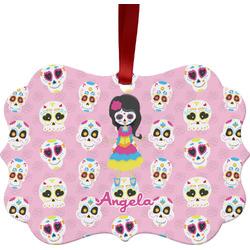 Kids Sugar Skulls Ornament (Personalized)