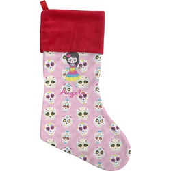 Kids Sugar Skulls Christmas Stocking (Personalized)