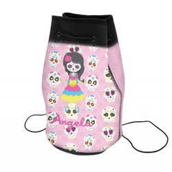 Kids Sugar Skulls Neoprene Drawstring Backpack (Personalized)