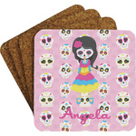 Kids Sugar Skulls Coaster Set (Personalized)