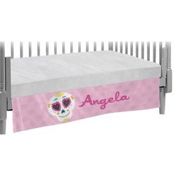 Kids Sugar Skulls Crib Skirt (Personalized)