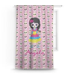 Kids Sugar Skulls Curtain (Personalized)