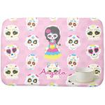 Kids Sugar Skulls Dish Drying Mat (Personalized)
