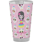 Kids Sugar Skulls Drinking / Pint Glass (Personalized)