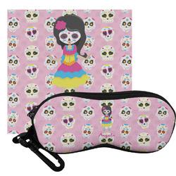 Kids Sugar Skulls Eyeglass Case & Cloth (Personalized)