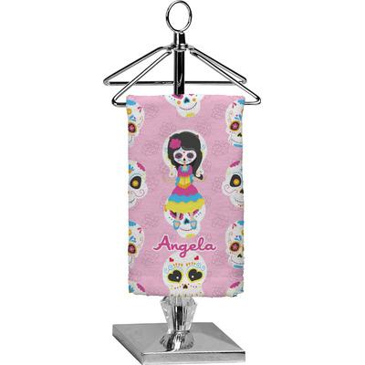 Kids Sugar Skulls Finger Tip Towel - Full Print (Personalized)