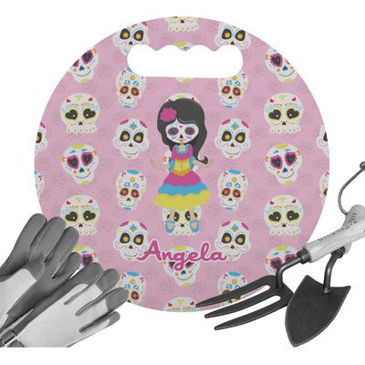 Kids Sugar Skulls Gardening Knee Cushion (Personalized)