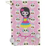 Kids Sugar Skulls Golf Towel - Full Print (Personalized)