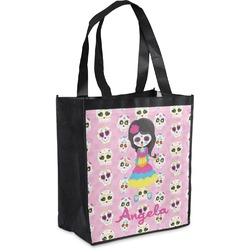 Kids Sugar Skulls Grocery Bag (Personalized)