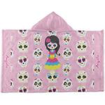 Kids Sugar Skulls Kids Hooded Towel (Personalized)
