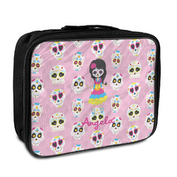 Kids Sugar Skulls Insulated Lunch Bag (Personalized)