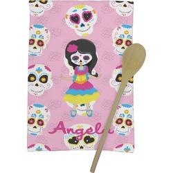 Kids Sugar Skulls Kitchen Towel - Full Print (Personalized)