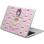 Kids Sugar Skulls Laptop Skin - Custom Sized (Personalized)
