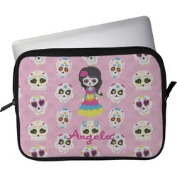 "Kids Sugar Skulls Laptop Sleeve / Case - 15"" (Personalized)"