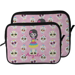 Kids Sugar Skulls Laptop Sleeve / Case (Personalized)