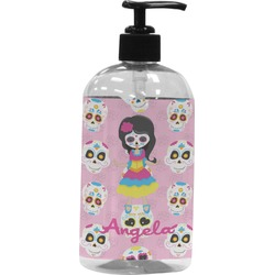 Kids Sugar Skulls Plastic Soap / Lotion Dispenser (Personalized)