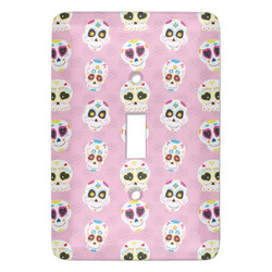 Kids Sugar Skulls Light Switch Covers - Multiple Toggle Options Available (Personalized)