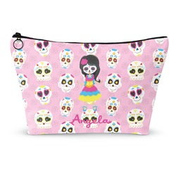 "Kids Sugar Skulls Makeup Bag - Small - 8.5""x4.5"" (Personalized)"