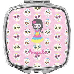 Kids Sugar Skulls Compact Makeup Mirror (Personalized)