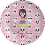 Kids Sugar Skulls Melamine Plate (Personalized)