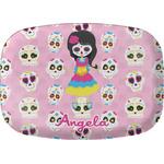 Kids Sugar Skulls Melamine Platter (Personalized)