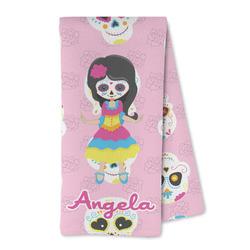 Kids Sugar Skulls Microfiber Kitchen Towel (Personalized)