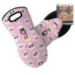Kids Sugar Skulls Neoprene Oven Mitt (Personalized)