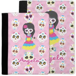 Kids Sugar Skulls Notebook Padfolio w/ Name or Text