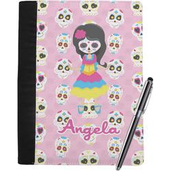 Kids Sugar Skulls Notebook Padfolio (Personalized)