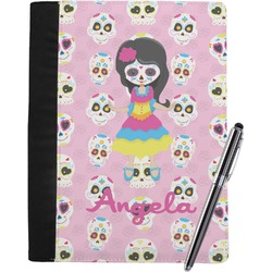 Kids Sugar Skulls Notebook Padfolio (Personalized)