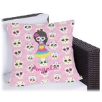 Kids Sugar Skulls Outdoor Pillow (Personalized)