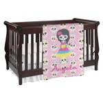 Kids Sugar Skulls Baby Blanket (Personalized)