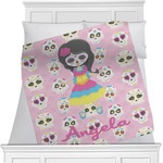 Kids Sugar Skulls Blanket (Personalized)