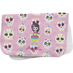 Kids Sugar Skulls Burp Cloth (Personalized)