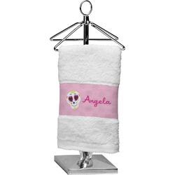 Kids Sugar Skulls Cotton Finger Tip Towel (Personalized)