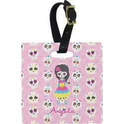 Kids Sugar Skulls Luggage Tags (Personalized)