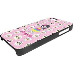 Kids Sugar Skulls Plastic iPhone 5/5S Phone Case (Personalized)